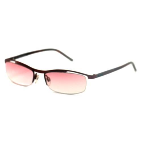 Just Cavalli Womens Sunglasses JC0055 383 Red 52 17 135 Semi-Rimless Oval