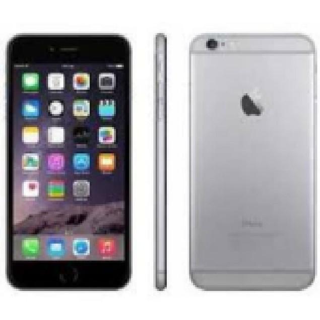 Apple iPhone 6 Plus, Unlocked, Grade B+, Gray, 64 GB, 5.5 in Screen
