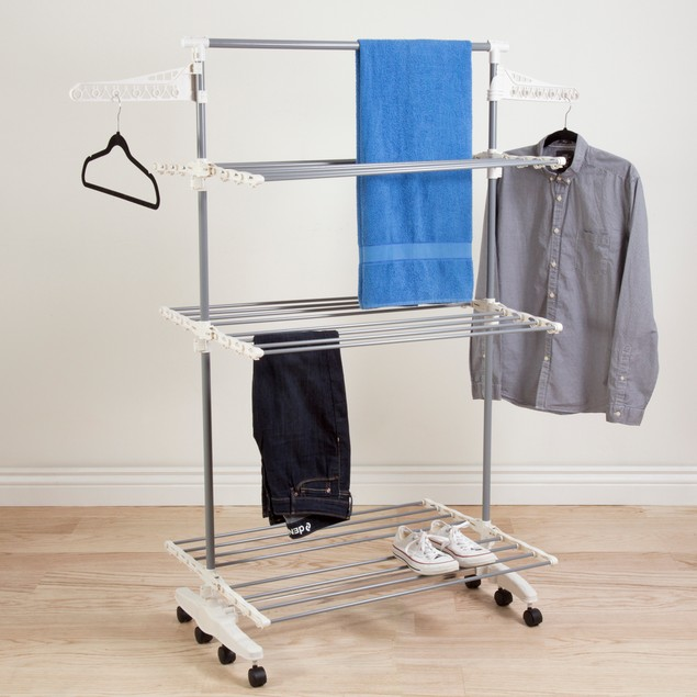 Heavy Duty 3 Tier Laundry Rack by Everyday Home