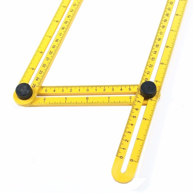 Multifunctional Measuring Tool Angle Model Angle Ruler