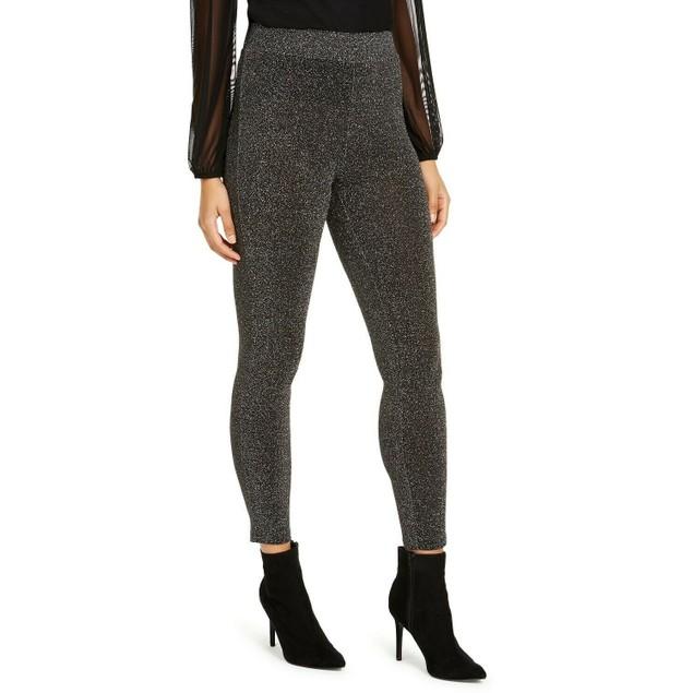 Thalia Sodi Women's Metallic Leggings Silver Size Extra Small