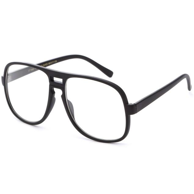 Steve Urkel Oversize Black Glasses