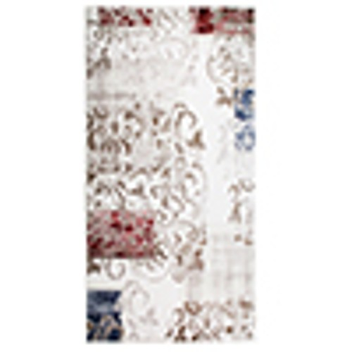 Shakespeare Scroll Transitional  Indoor Area Rug