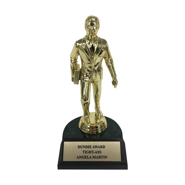 Angela Martin Tight-Ass Dundie Award Trophy