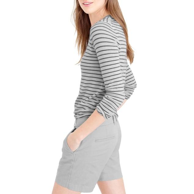 Hybrid & Co Super Comfy Twill Bermuda Shorts (Reg & Plus)