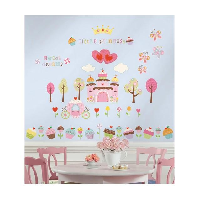 Roommates Nursery Baby Room Wall Decor Happi Cupcake Land Wall Decals