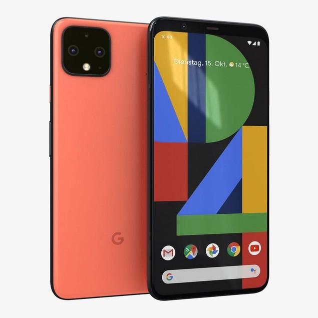 Google Pixel 4, Unlocked, Grade A, Orange, 64 GB, 5.7 in Screen