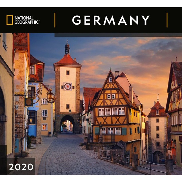 Germany NG Wall Calendar, Germany by Calendars