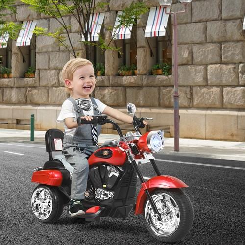 Costway 3 Wheel 6V Kids Ride On Motorcycle