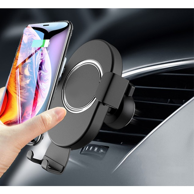Fast Wireless Car Charger and Mount for $12.99.