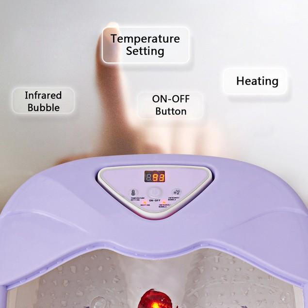 Costway Foot Spa Heated Bath Massager