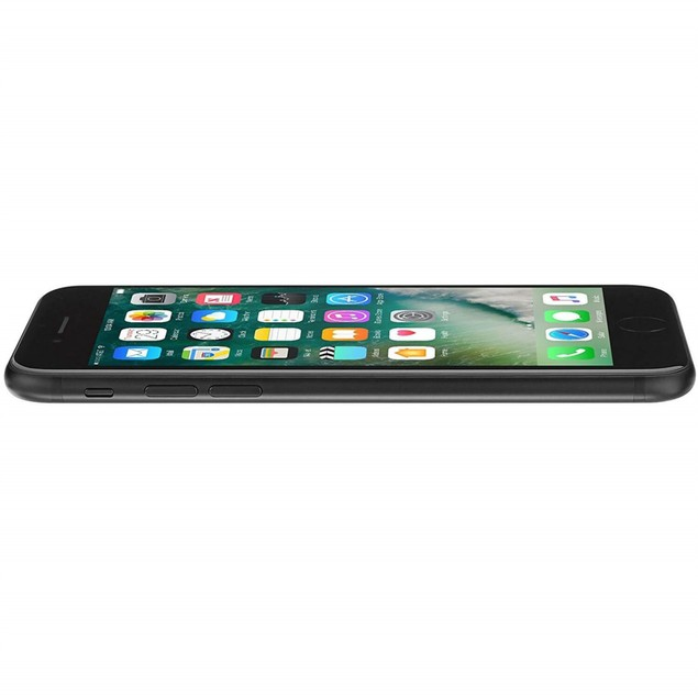 Apple iPhone 7, MN9H2LL/A, A10/128GB/AT&T, Black/Black (Refurbished)