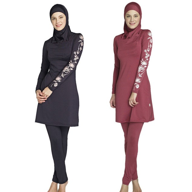 Muslim Swimwear swimsuit for islamic women with hijab #170212W3