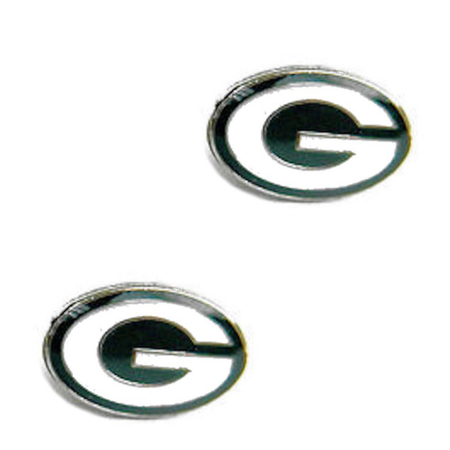 Green Bay Packers Post Stud Logo Earring Set Charm Gift