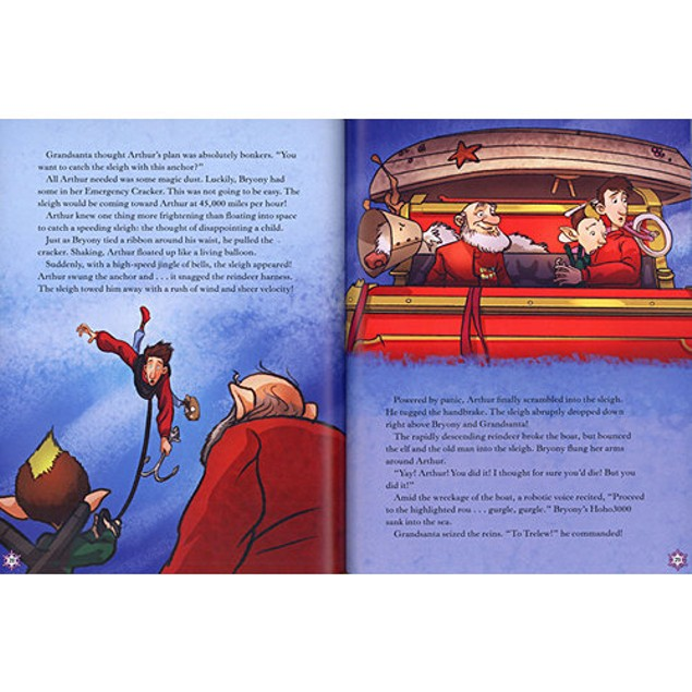 Arthur Christmas The Movie Storybook Book, Animated Movies by Sterling Publ