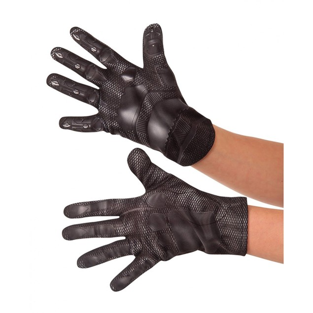 Kids Black Panther Gloves