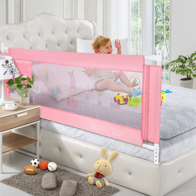 Bedrail for Toddlers. Infants Safety Guardrail, Supports Vertical Lifting