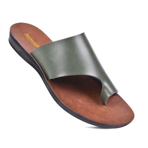 AEROSOFT Daffodil Comfortable Walking Summer Slide Sandals for Women