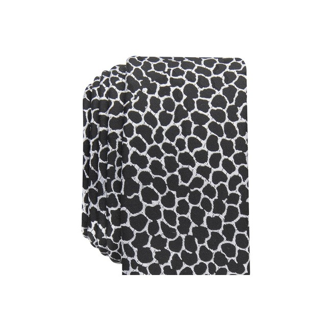 INC International Concepts Men's Skinny Abstract Tie Black Size Regular