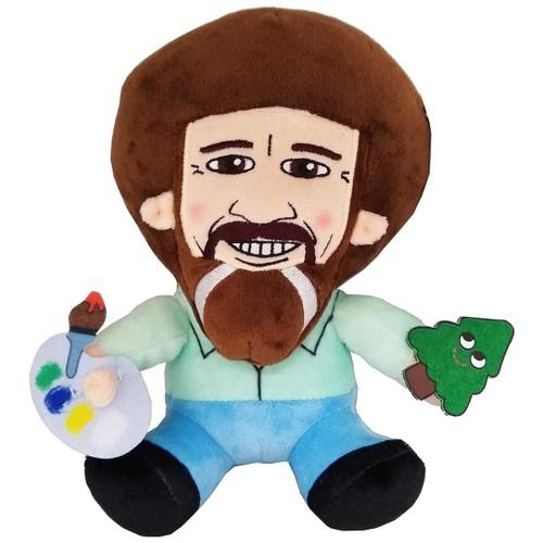 """Bob Ross Sitting Kidrobot 7"""" Plush"""