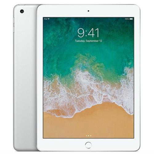 """Apple iPad 5 (5th Gen) - 32GB - Wi-Fi - 9.7"""" - Silver - 2017 - Grade B"""