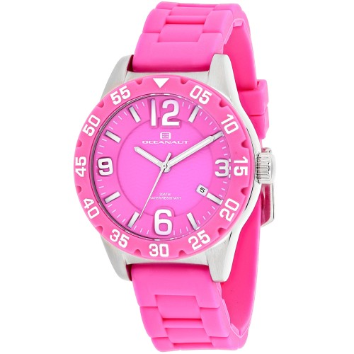 Oceanaut Women's Aqua One Pink Dial Watch - OC2812