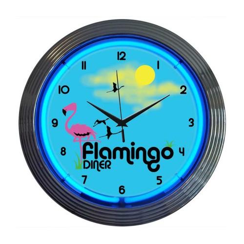 Neonetics Golf Neon Clock