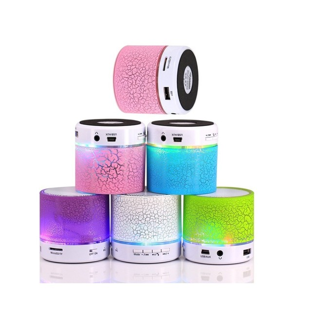 Wireless LED Bluetooth Speaker for Mobile Devices