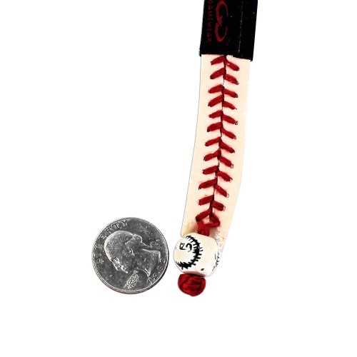 Philadelphia Phillies Classic MLB Gamewear Leather Baseball Bracelet