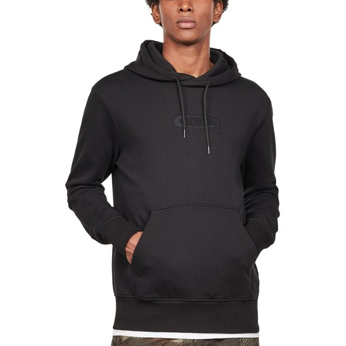 G-Star Raw Men's Graphic 16 Core Hooded Sweater Black Size 2 Extra Large