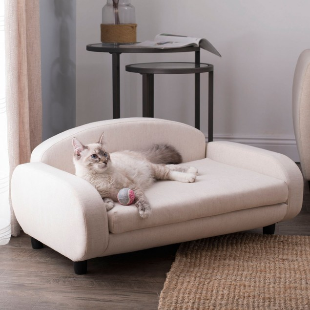 Offex Pet Sofa Bed - Oatmeal