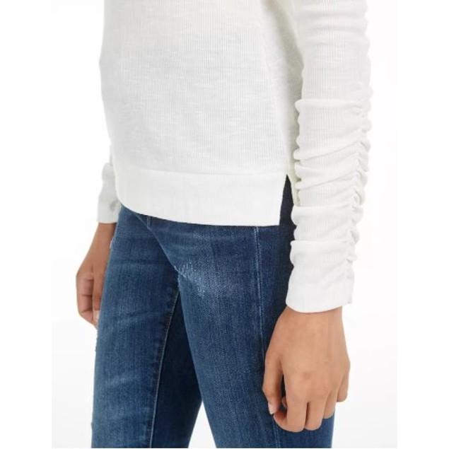 American Rag Junior's Cutout Rib Knit Turtleneck Top White Size X-Small