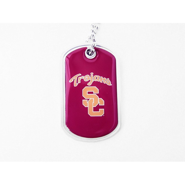 USC Trojans Dog Fan Tag Necklace - NCAA