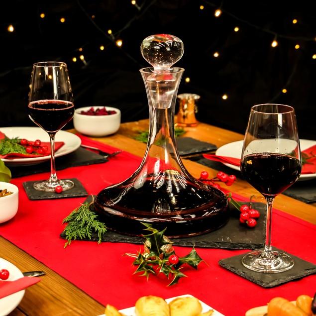 1.5L Wine Decanter Set   MandW