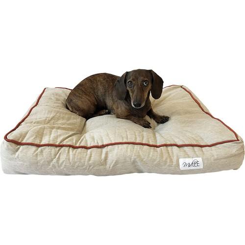 Midlee Grey Tufted Indoor/Outdoor Dog Bed