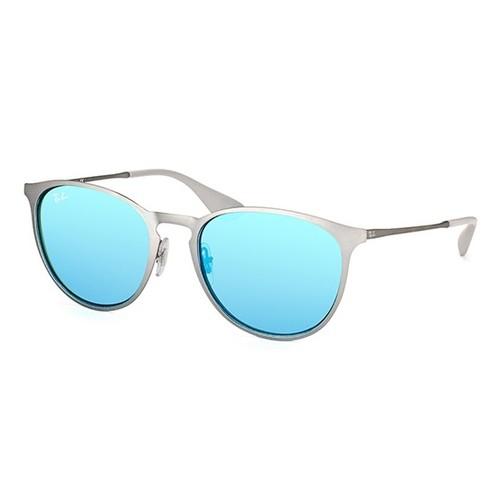 Ray-Ban Erika Metal Gunmetal Sunglasses RB3539-9015B4-54