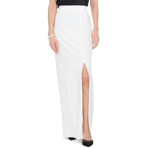 Adrianna Papell Women's Column Skirt White Size 4