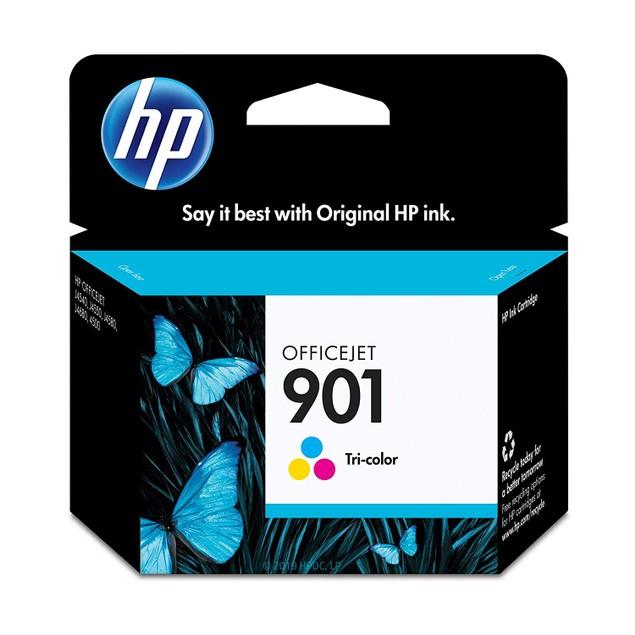 Hewlett Packard 901 CC656AN Tricolor Original Ink Cartridge Officejet