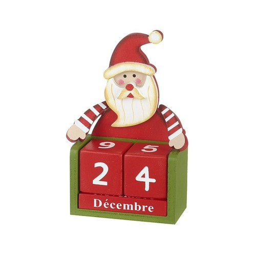 Father Christmas Block Advent