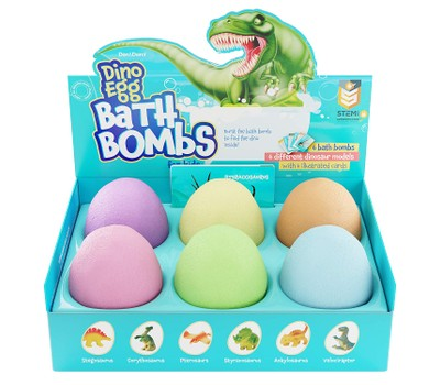 Dino Bath Bomb for Kids with Surprise Dinosaur Inside Was: $24.99 Now: $21.99.