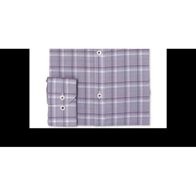 Ryan Seacrest Distinction Men's Ultimate Dress Shirt Purple Size 15.5X34-35