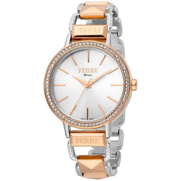 Ferre Milano Women's Classic Silver Dial Watch - FM1L173M0101