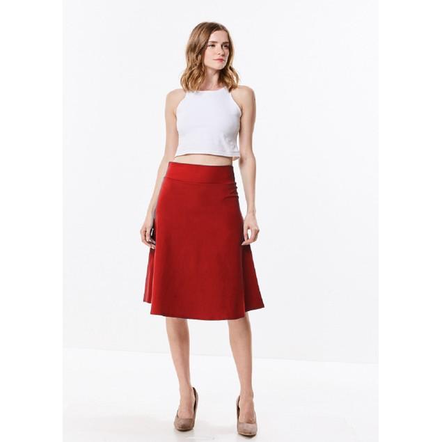 Millennium Stretch Twill A-Line Skirt