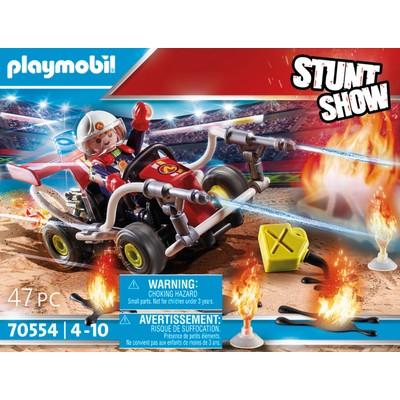 Playmobil Stunt Show Fire Quad