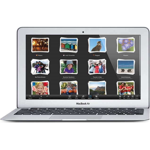 """Apple MacBook Air MD711LL/A 11.6"""" 128GB,Silver(Scratch and Dent)"""