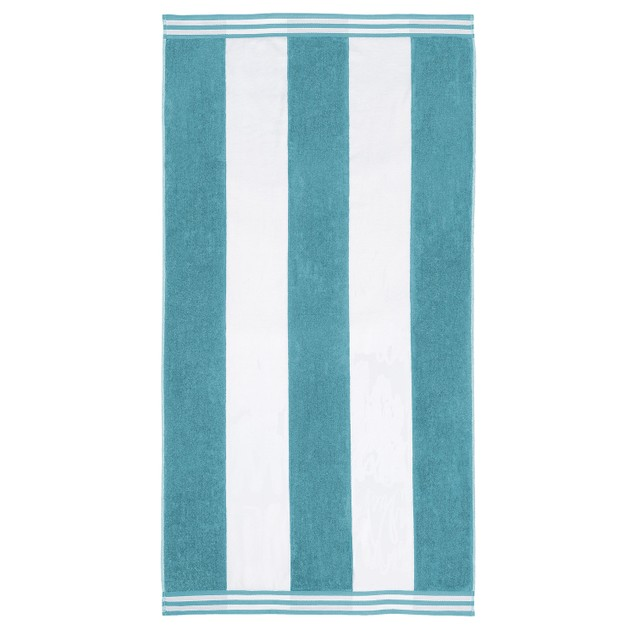 Oversized Jacquard Long-Staple Cotton Beach Towel