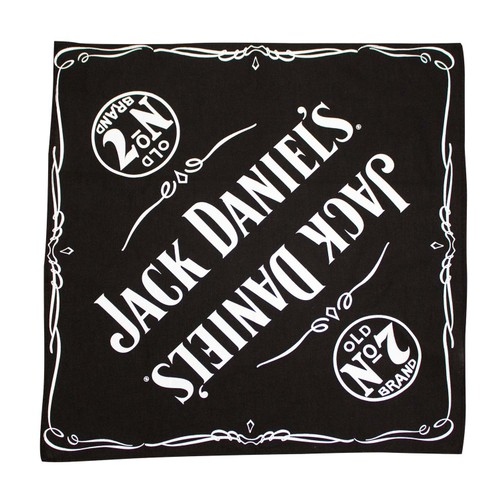 Jack Daniels Old No. 7 Black Bandana