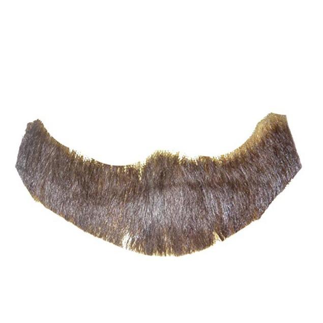 Brown Full Character Beard Human Hair Costume Halloween Accessory