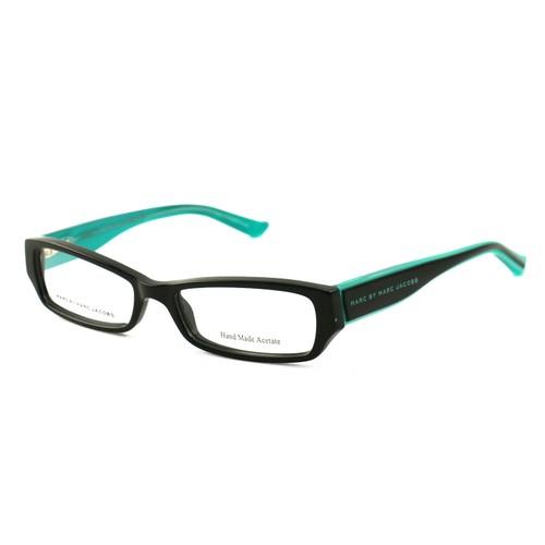 Marc Jacobs Women Eyeglasses MMJ 471 QI1 Black/Turquoise 51 16 135 Rectangle