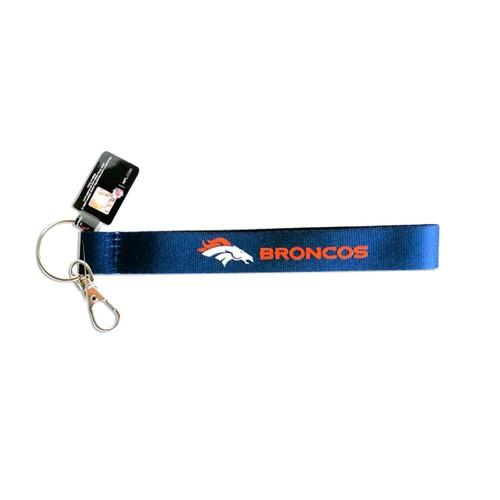 Cleanlapsports Denver Broncos Wristlet